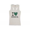 Camiseta chica tirantes de Huesca.