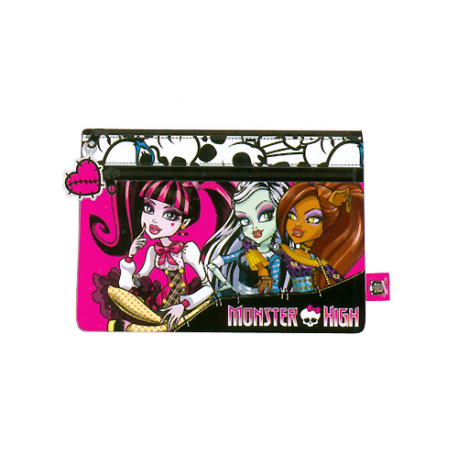 Portatodo plano de Monster High.