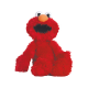 Peluche grande de Elmo de Barrio Sésamo.