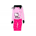 Pyjama junior Hello Kitty manches longues.