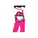 Pyjama junior Hello Kitty manches longues.
