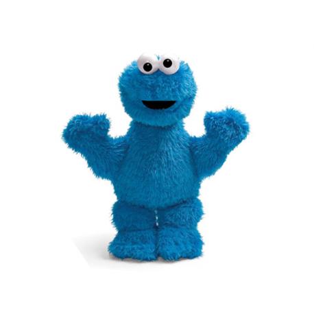 Sesame Street Cookie Monster Medium Plush doll.