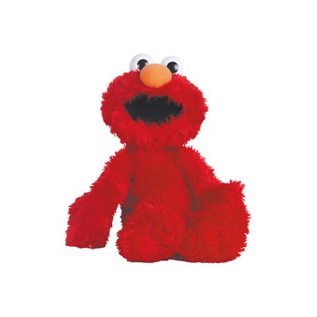 Peluche mediano de Elmo de Barrio Sésamo.