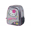 Mochila multibolsillos de Hello Kitty.