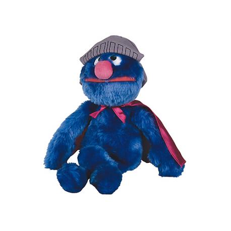 Moyenne peluche Super Grover Rue Sésame.