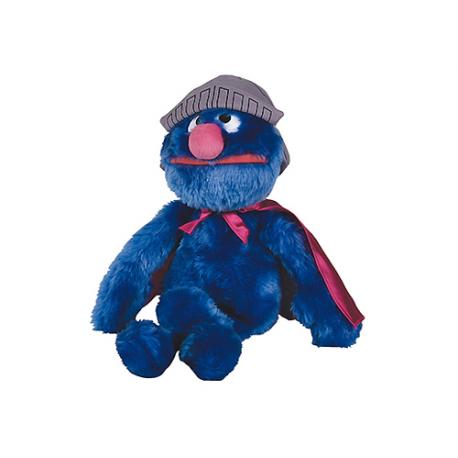 Petite peluche Super Grover Rue Sésame.