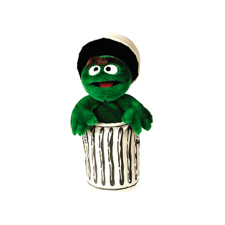Sesame Street Oscar the grouch Medium Plush doll.