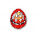 Huevo rojo Little Plush lycra.