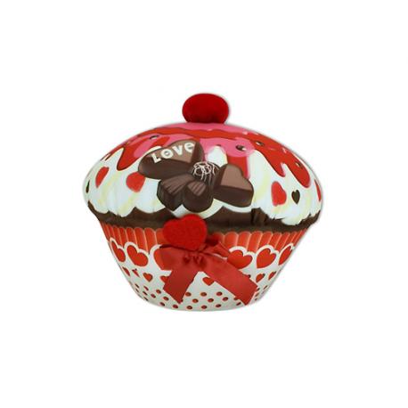 Mini peluche lycra Cupcake.