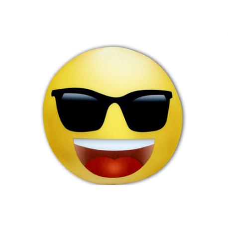 Peluche mediano de lycra Emo gafas.