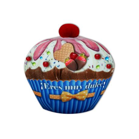 Peluche mediano de lycra Cupcake.