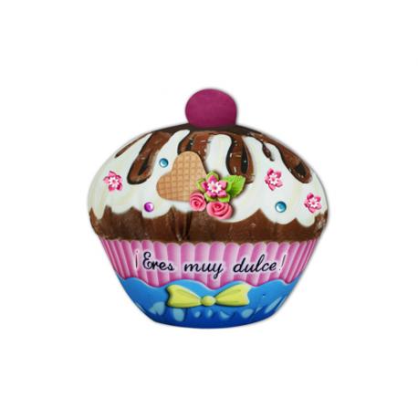 Peluche pequeño de lycra Cupcake.