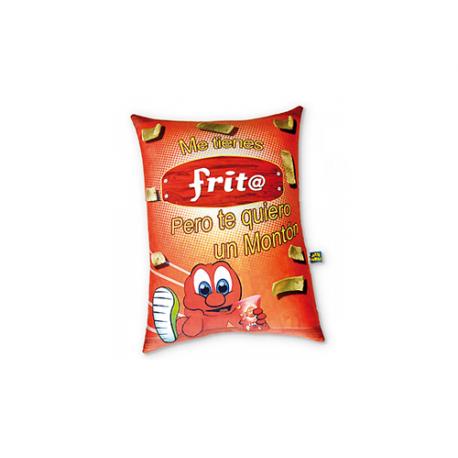 Peluche pequeño de lycra Frito.