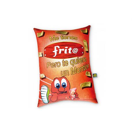 Peluche mediano de lycra Frito.