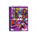Carpeta de gomas y solapas de Monster High
