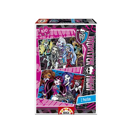 Puzzle de 100 piezas de Monster High.