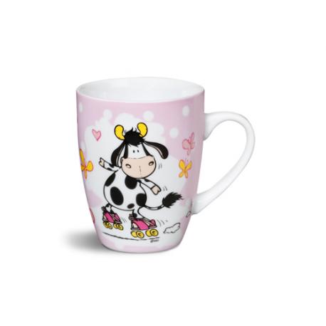 Taza mug porcelana Cow de Nici.