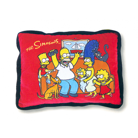 The Simpsons Cushion shaped.