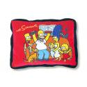 Cojín de terciopelo de Los Simpsons.