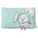 Cojín de terciopelo Snow Rabbit de Nici.