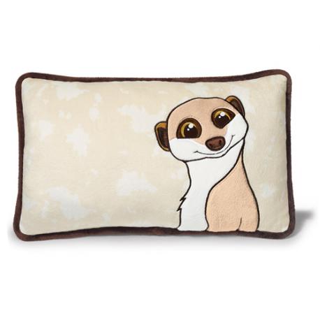 Nici Meerkat gold. Cushion.