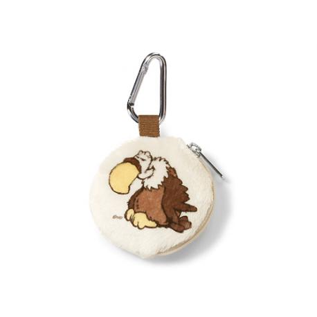 Nici Vulture & Lion Mini coin purse.