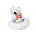 Nici Urso polar & Seal Plush doll.