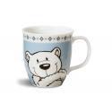 Nici Urso polar & Seal Cup porcelain mug.
