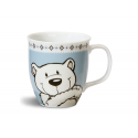 Taza mug porcelana Urso polar & Seal de Nici.