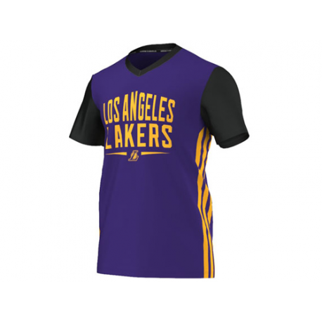 Camiseta Summer Run Los Angeles Lakers.