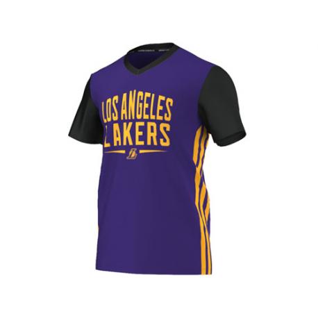 Camiseta Summer Run Los Angeles Lakers.