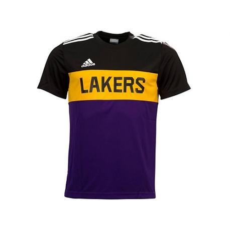 Camiseta Winter Hoops Los Angeles Lakers.