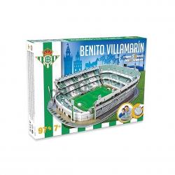 Puzzle 3D Benito Villamarín Real Betis.