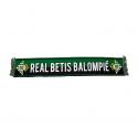 Bufanda telar del Real Betis.