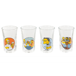 The Simpsons 4 Shotglass.