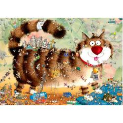 Puzzle de 1000 pièces Cat's Life.