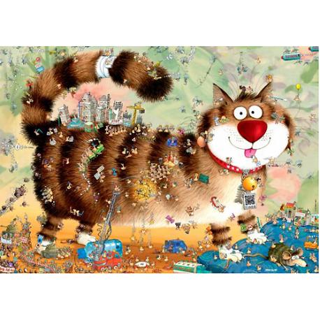 Puzzle de 1.000 piezas Cat's Life.