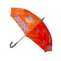 Paraguas cadete del Atlético de Madrid.
