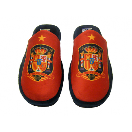 Spain Selection Slippers at home.