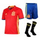 Kit niño 1ª equipación Selección España 2016.