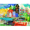 Puzzle de 1.000 piezas I Love Amsterdam!.