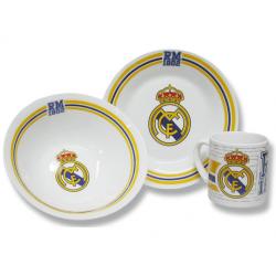 Set petit déjeuner Real Madrid.