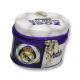 Hucha con cremallera del Real Madrid.