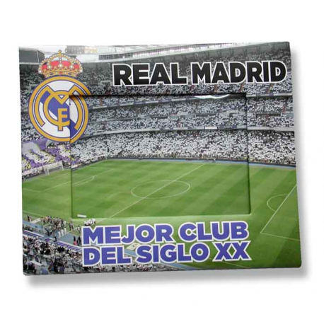 Portafotos papel del Real Madrid.