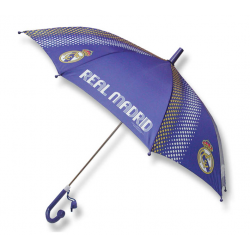 Paraguas infantil del Real Madrid.