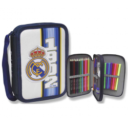 Petite trousse double Real Madrid.
