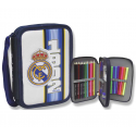 Real Madrid Small Double pencil case.