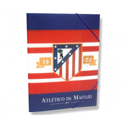 Atlético de Madrid Folder Polypropylene.