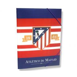 Carpeta de polipropileno del Atlético de Madrid.
