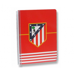 Atlético de Madrid 4th Spiral notebook.